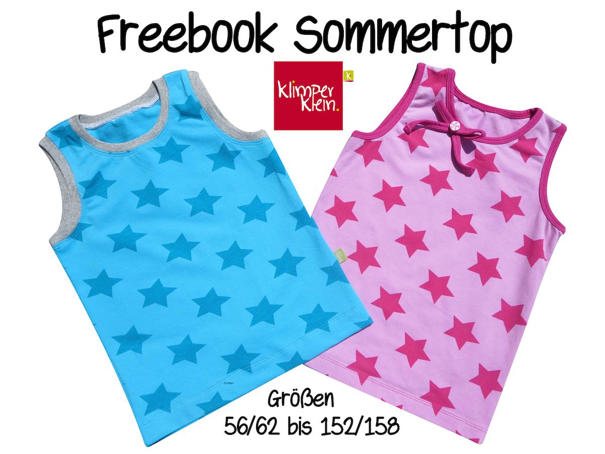 Freebook Sommertop | klimperklein | Bloglovin\'