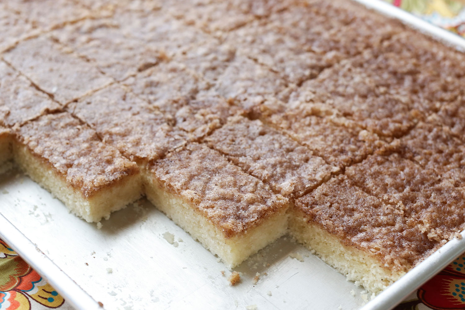 Cinnamon Toast Bars {gluten free and traditional dessert recipes} by ...