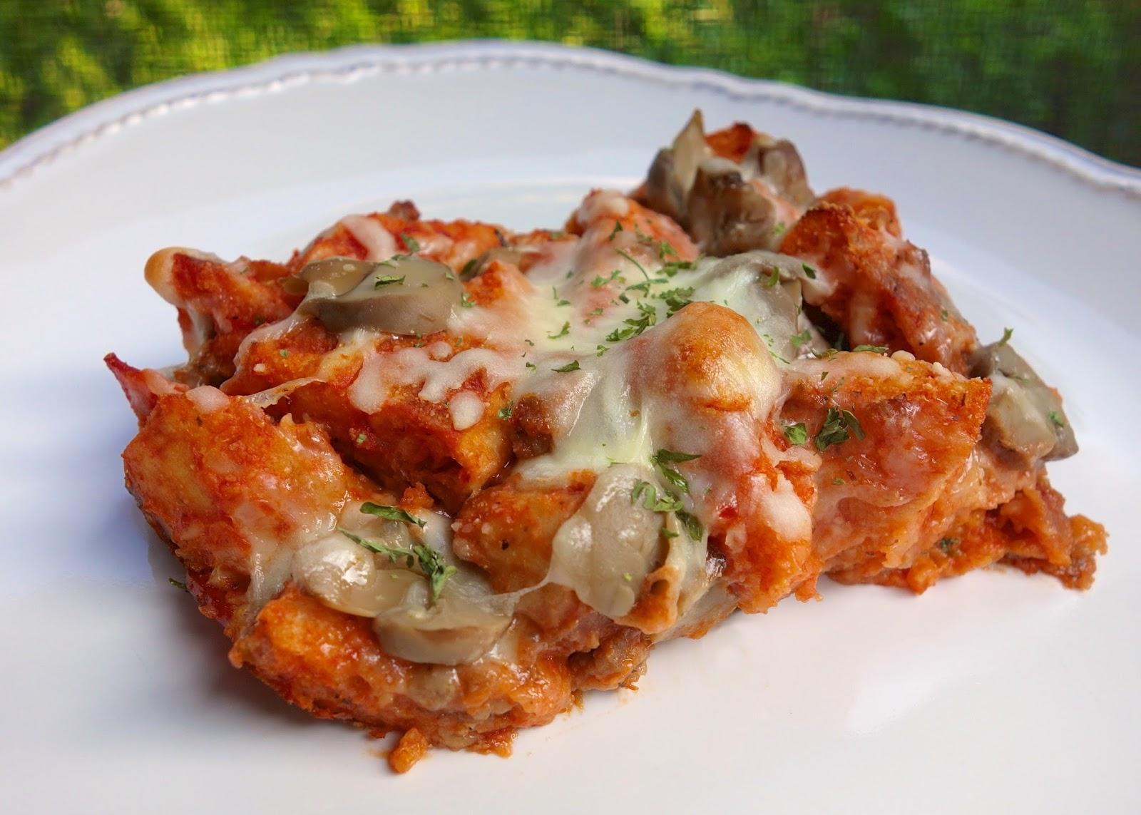 English muffin pizza casserole plain chicken english muffin pizza casserole forumfinder Choice Image