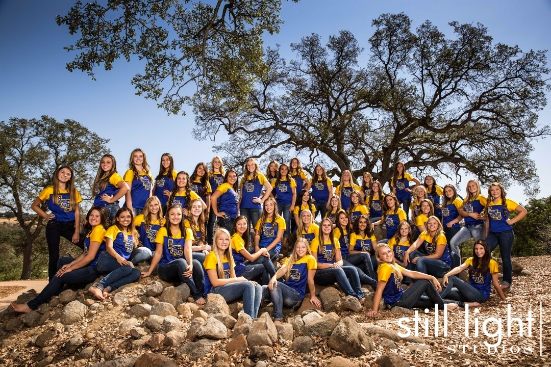 San Francisco Lincoln High School Cheer Team Photo by Still Light Studios, School Sport Photography and Senior Portrait in Bay Area, cinematic, nature