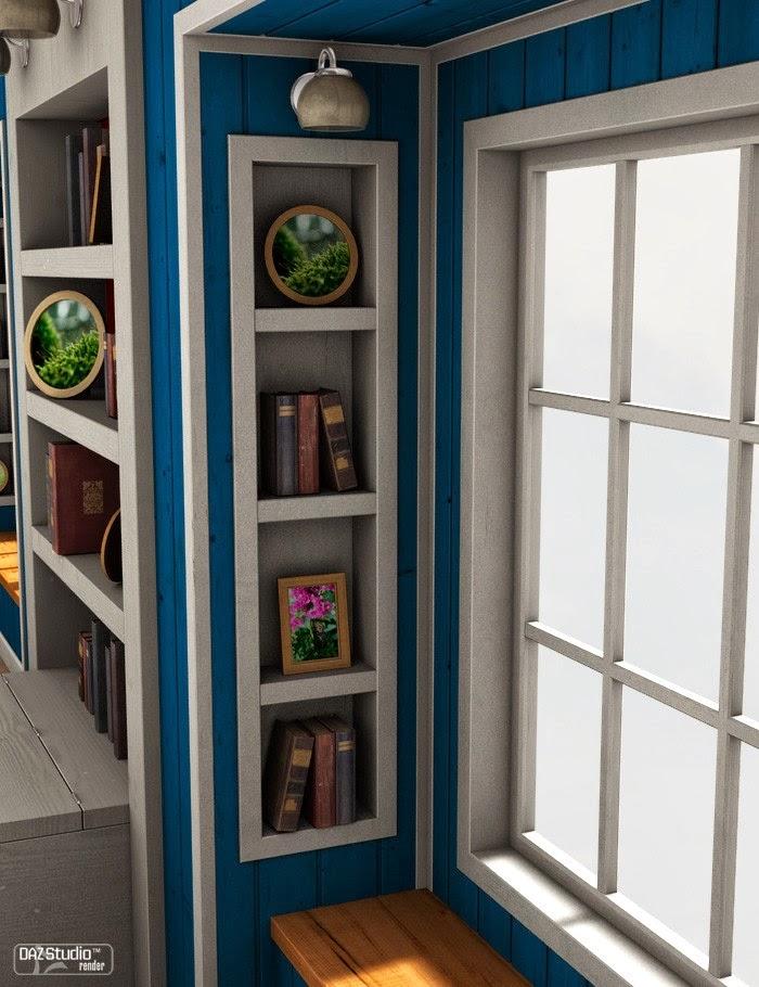 Download daz studio 3 for free daz 3d the attic bedroom for Living room 2 for daz studio