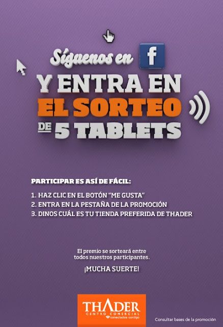 Sorteo Tablet Facebook