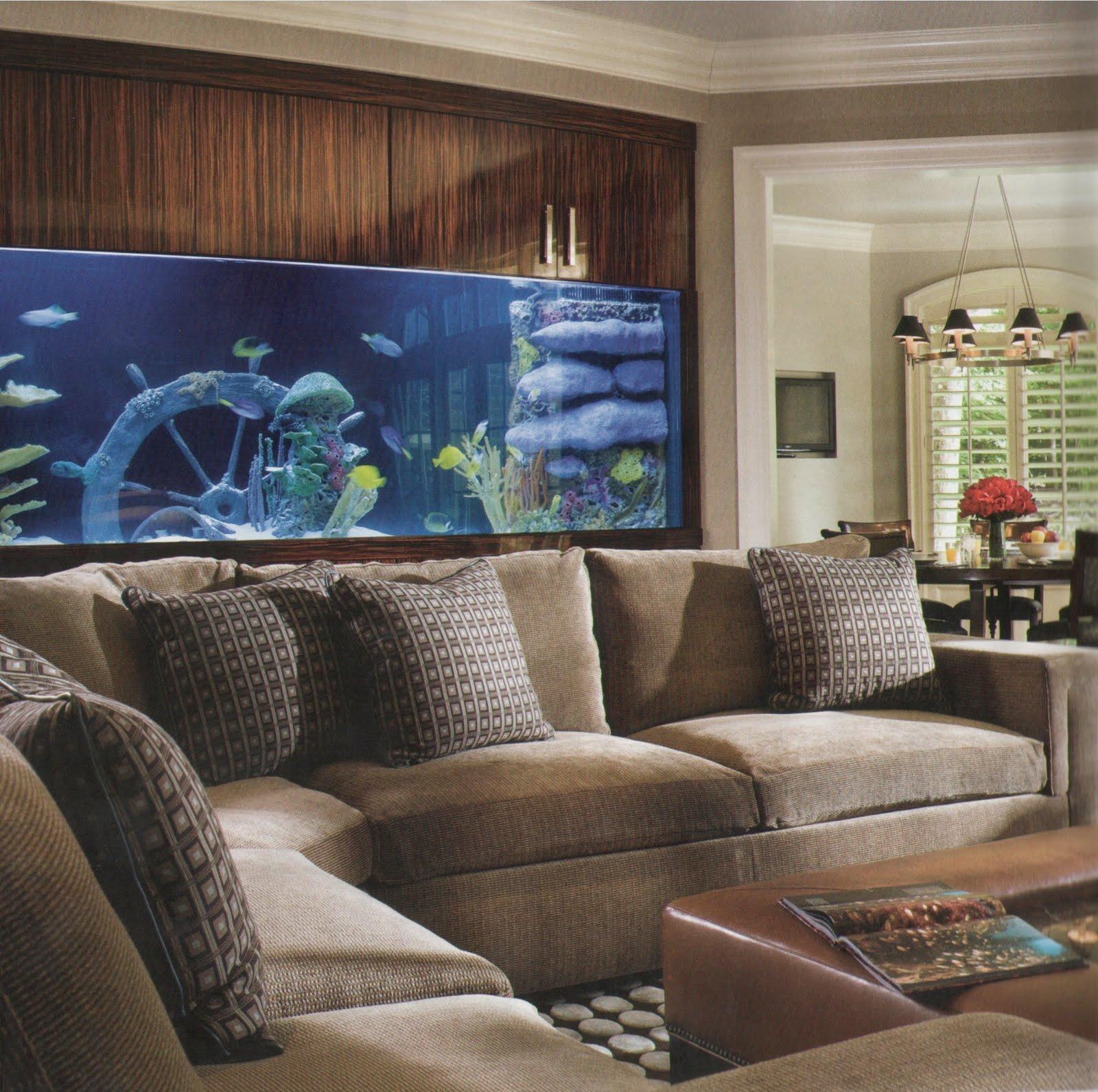 home aquarium, beautiful, elegant, trendy, stylish, interior ...