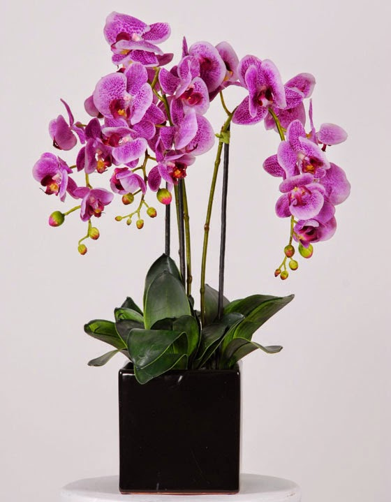 Home decor flower arrangements for Artificial flower for decoration