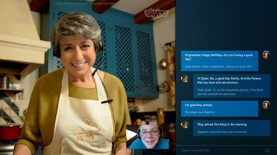 خدمة الترجمة الفورية للمحادثات على برنامج Skype سكايب