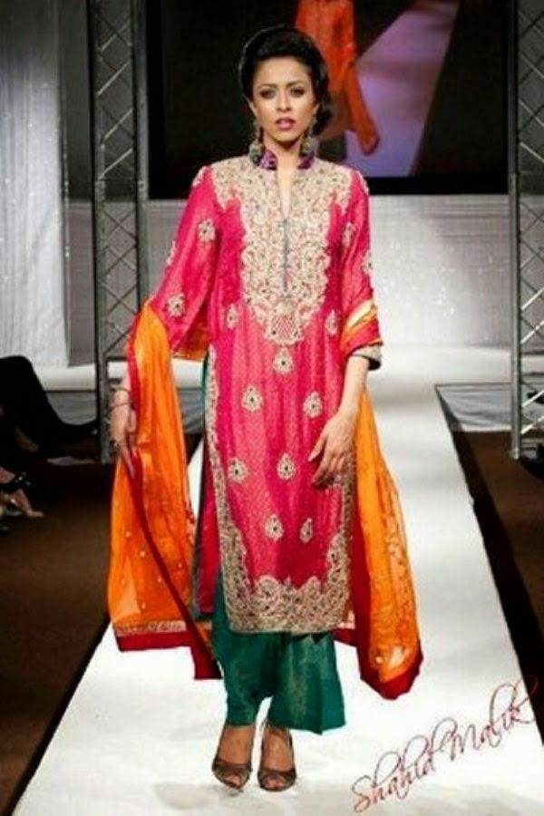 Mehndi Outfit Ideas : Color mehndi wear dresses ideas