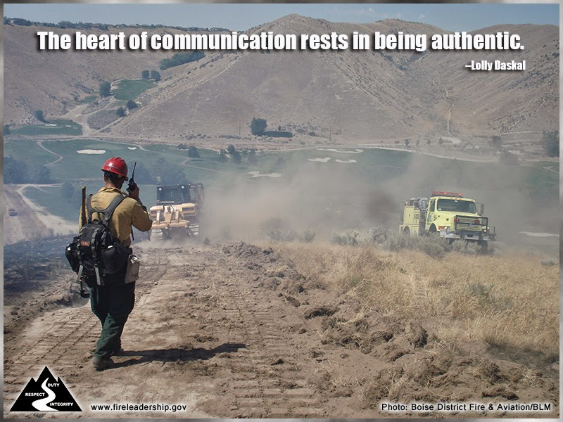The heart of communication rests in being authentic. – Lolly Daskal
