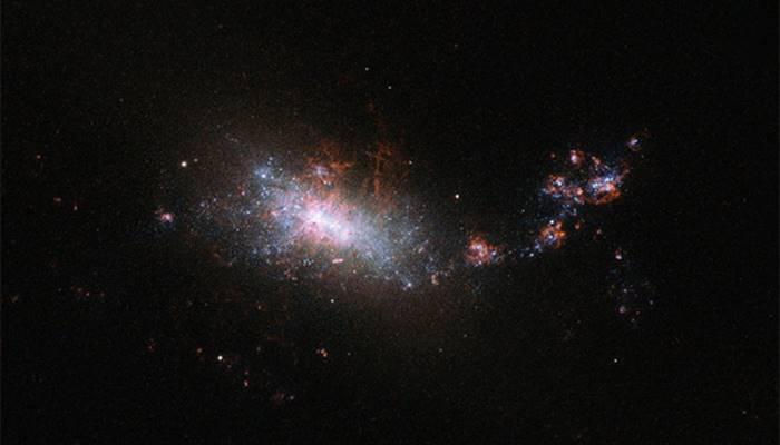 pemandangan eridanus di langit alam semesta