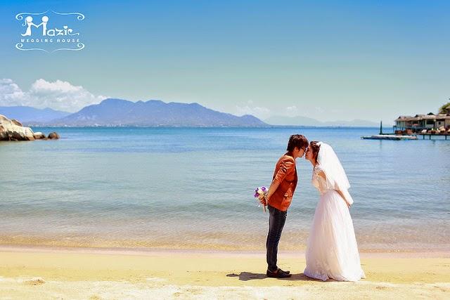 chụp hình cưới ở Nha Trang