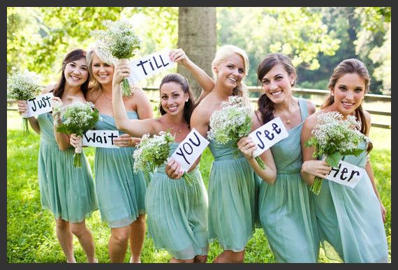 Bride Bridesmaid Photo Shoot Ideas