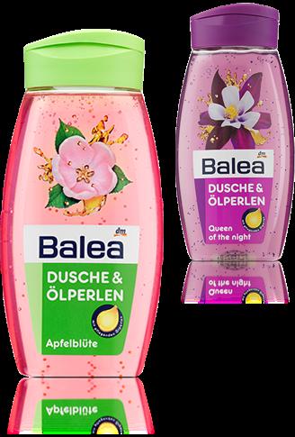 Balea Dusche & Ölperlen Apfelblüte Balea Goodbye Dusche & Ölperlen Queen of the Night und Apfelblüte