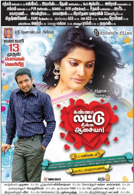 Kanna Laddu Thinna Aasaiya 2013 Full Movie Watch Online DVDRip