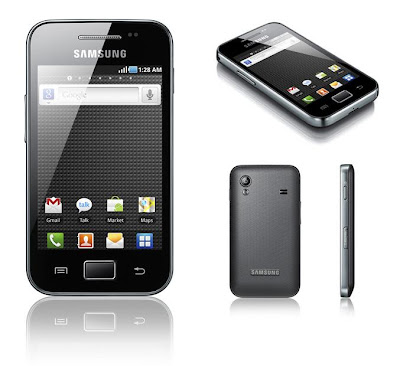 Características técnicas Samsung Galaxy Ace S5830