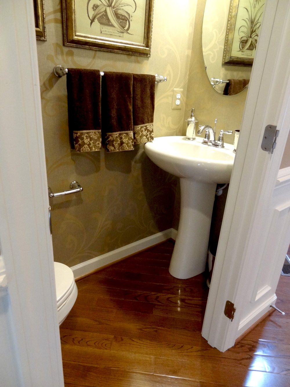 Lot 106 model Small half bathroom design ideas