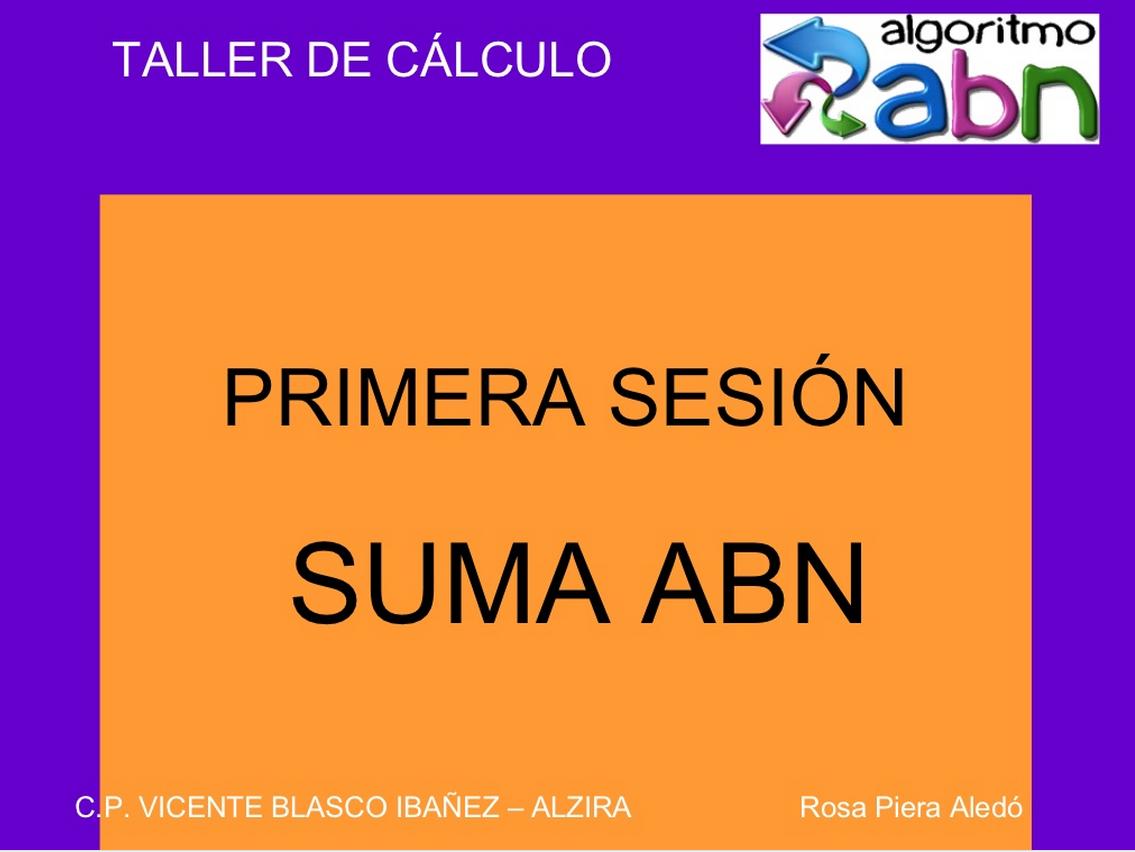 http://www.slideshare.net/rpiera/resultat-primera-sessi-suma-abn-15444308