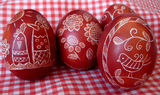 мастер-класс пасхальные яйца