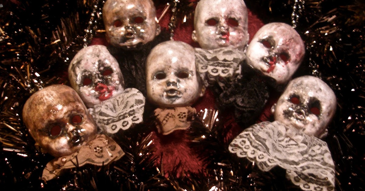 Morbid Curiosities Creepy Christmas Ornaments