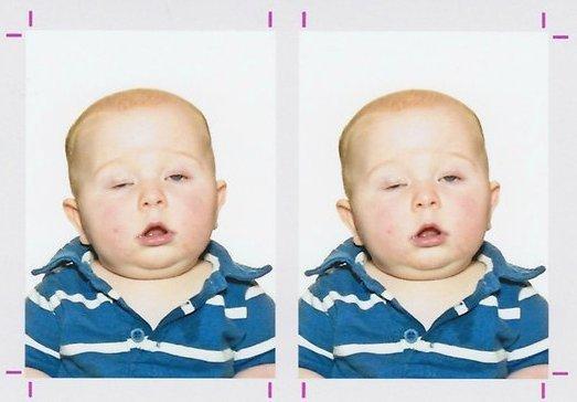 Foto Paspor Bayi