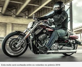 Participar da promoção Revista Motociclismo Moto de Ouro