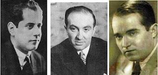 Los ajedrecistas Capablanca, Najdorf y Flohr