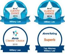 Avvo Clients' Choice Awards 2013-2015