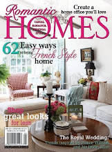 April 2011 issue of Romantic Homes Magazine