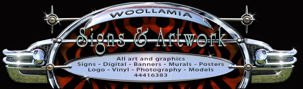 Woollamia Signs