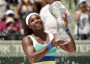 Serena Sinks Sharapova For Record Sixth Miami Title