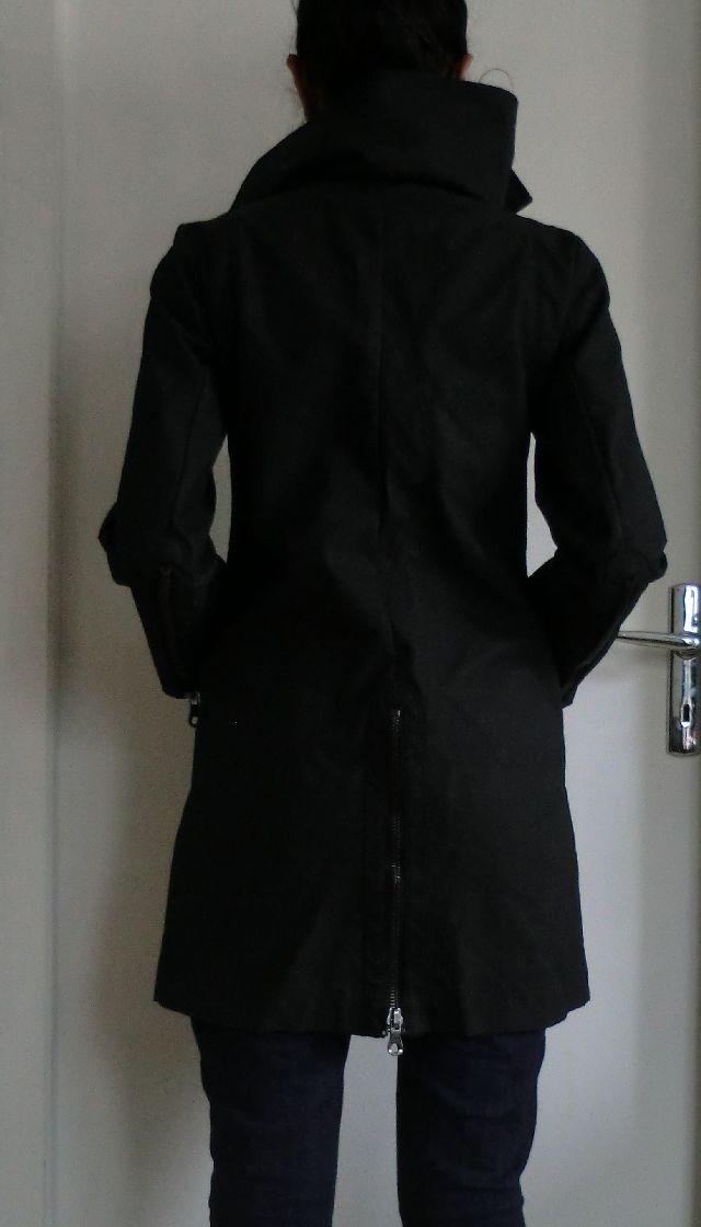 Cookie 39 s vide dressing manteau imper noir comptoir des - Comment taille comptoir des cotonniers ...