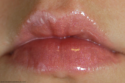 Benefit Ultra Shine Lip Gloss in Nookie Nookie Swatch