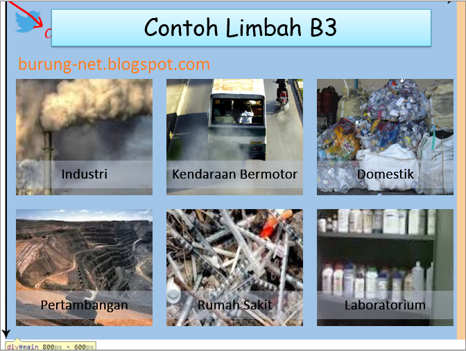 download contoh presentasi powerpoint limbah b3