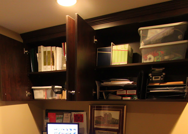 mid-century modern home office