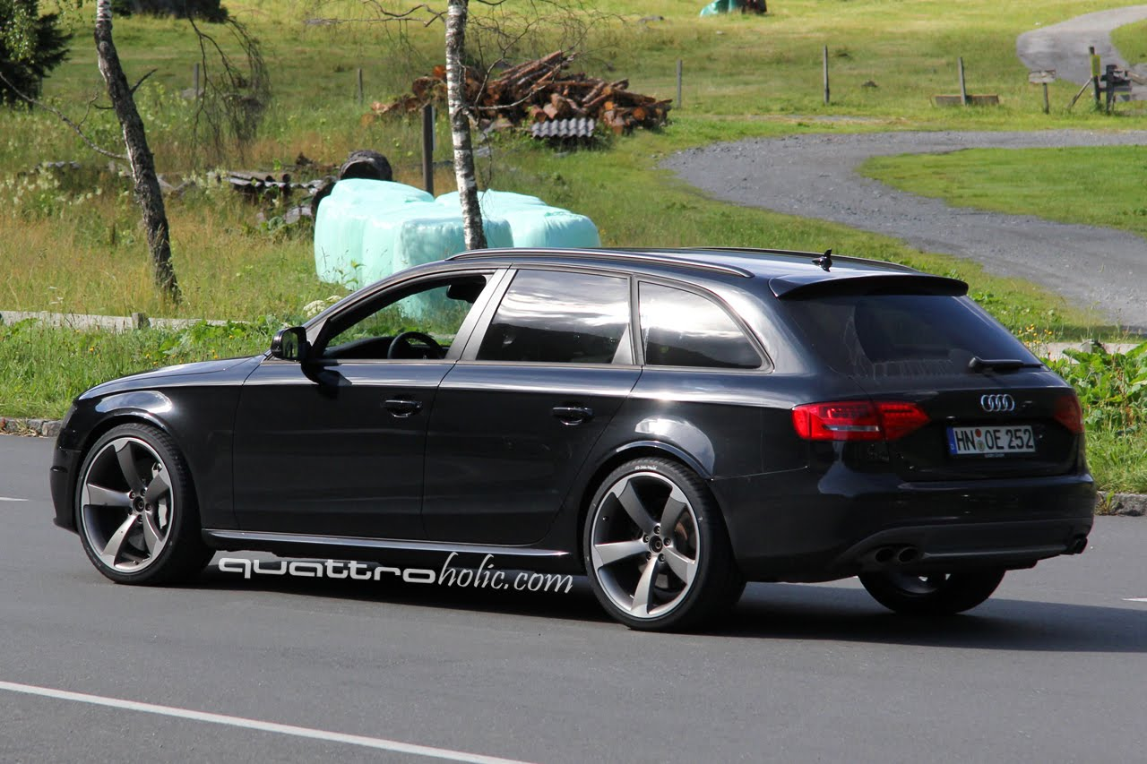 spyshots b8 audi rs4 avant testing in austria. Black Bedroom Furniture Sets. Home Design Ideas