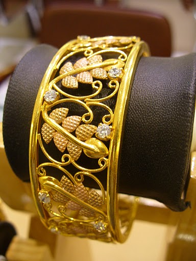 Gold And Diamond Jewellery Designs Gold Exquisite Single
