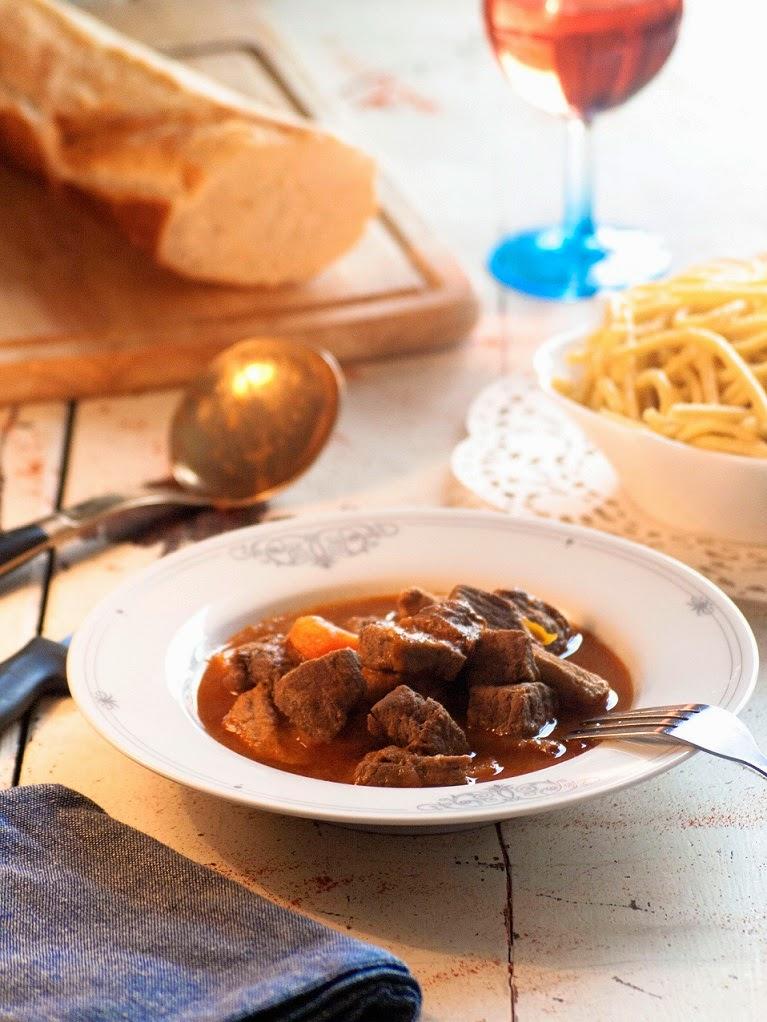 , goulasch à l'allemande, recette goulasch, goulasch maison