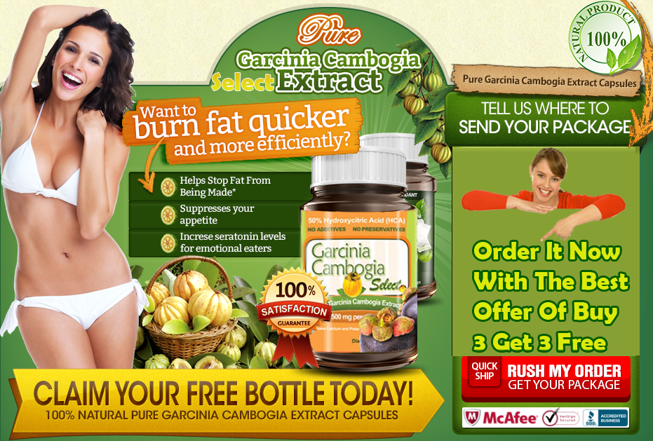 Garcinia Cambogia Select Top Weight Loss Product Offer Buy 3 Get 3 ...