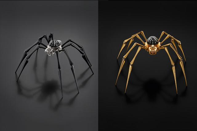 MB&F Arachnophobia Black & Gold