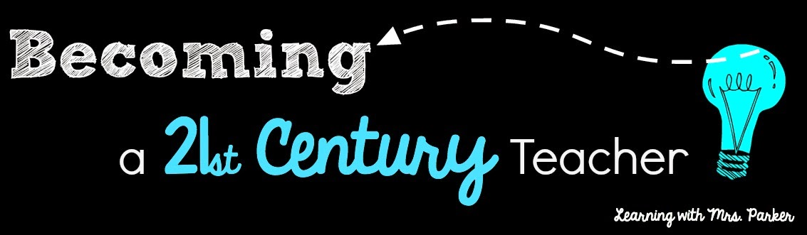Header with words: Becoming a 21st Century Teacher