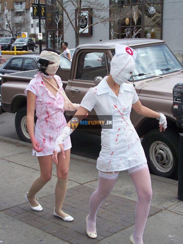 Halloween Nurses