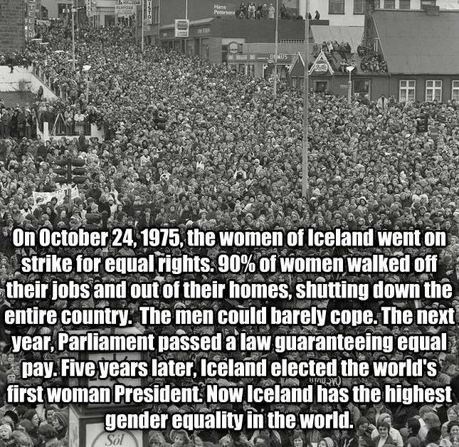 Bad-ass Icelandic Women