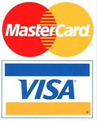 We accept these credit cards