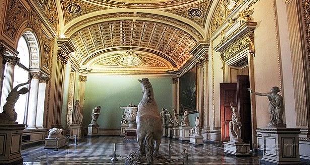 La Galeria Uffizi en Florencia