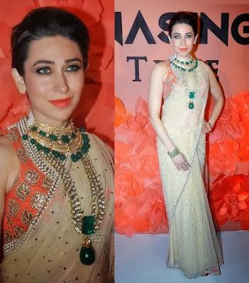 Karishma Kapoor in Bollywood Designer Outfits 2013 ...