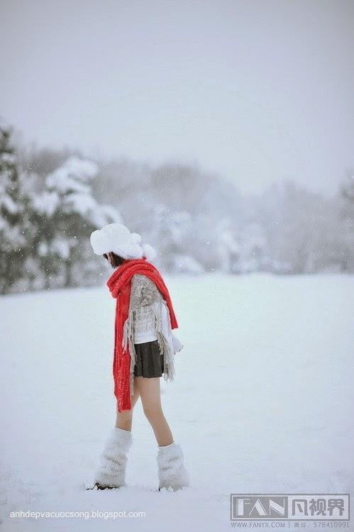 Dạo chơi ngoài tuyết lạnh 5