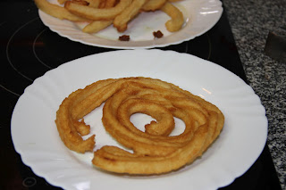 Receta de churros