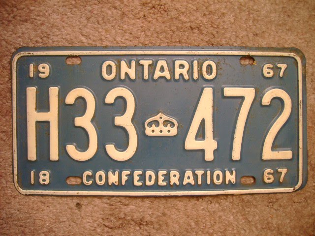 how to get license plates in ontario