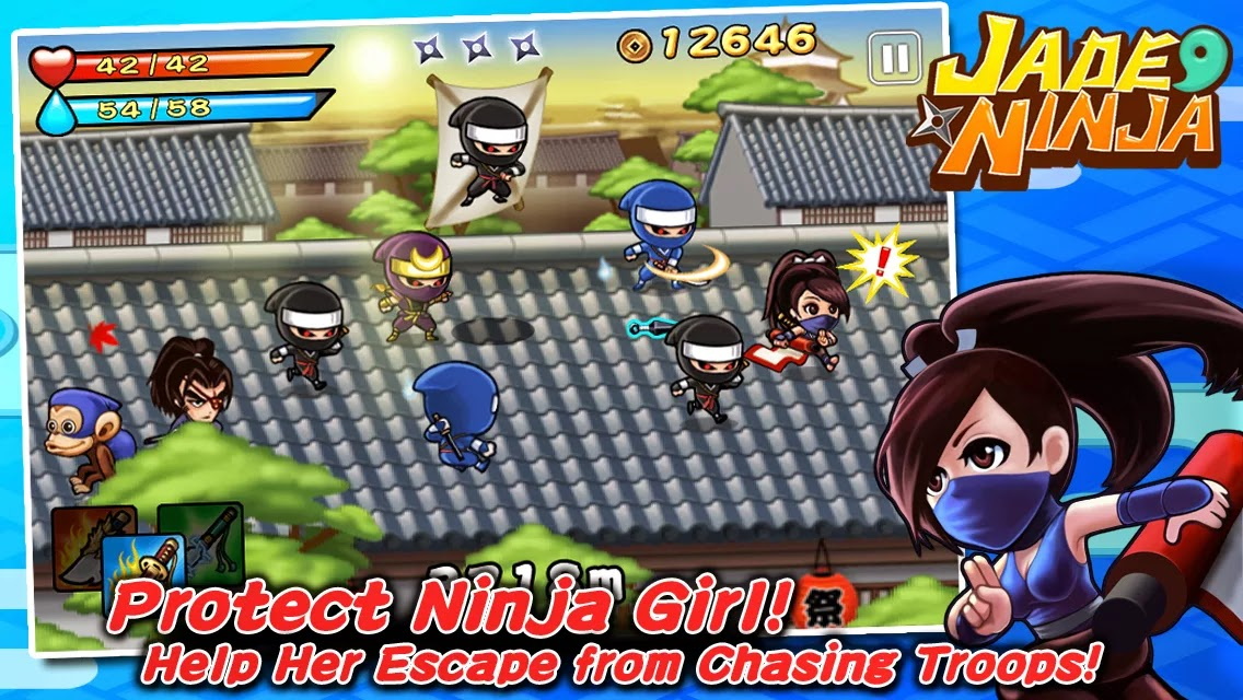 Jade Ninja v1.0.2 Mod [Unlimited Gold/Gems]