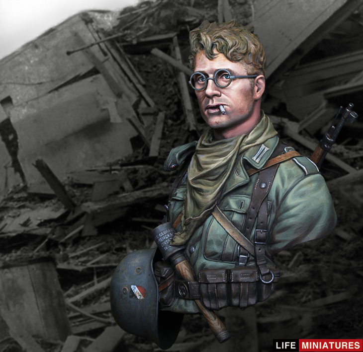 The Modelling News Sang Eons Stalingrad 6th Army Soldier Bust