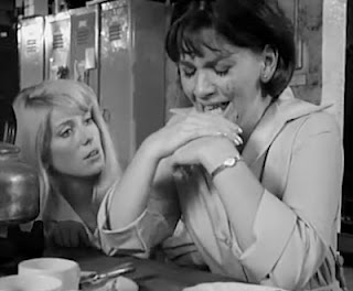 Catherine Deneuve and Helen Fraser in 'Repulsion'