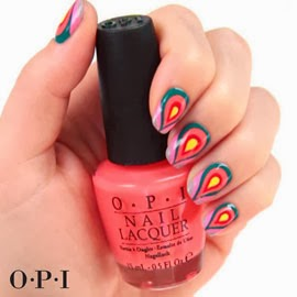 lacas de uñas Opi Brazil Nail Art vídeo tutorial